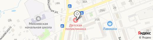 Ивановский текстиль на карте Михнево