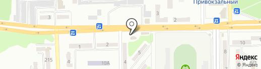 Миллениум на карте Макеевки