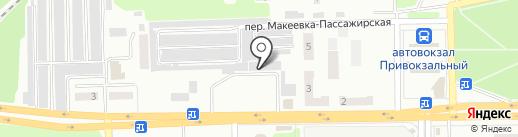 Овощной магазин на карте Макеевки