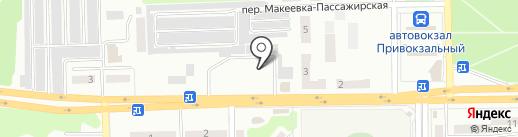 Черёмушки на карте Макеевки