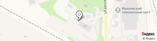 Михневохлебопродукт на карте Михнево