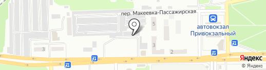 Шоколадик на карте Макеевки