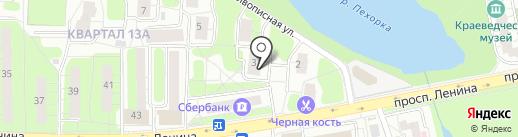 Нотариус Тимонин М.А. на карте Балашихи