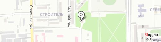 Парк на карте Макеевки