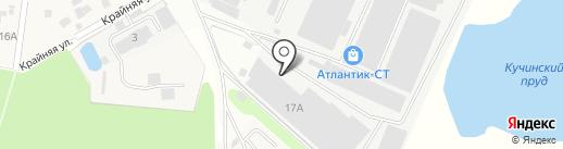 Камелот на карте Балашихи
