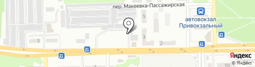 Магазин колбасных изделий на карте Макеевки