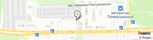 Мясной магазин на карте Макеевки