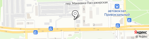 Ласуня на карте Макеевки