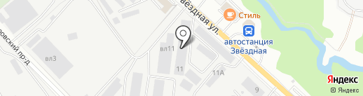 АГЗС на карте Балашихи