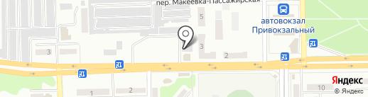 Будремсервис на карте Макеевки