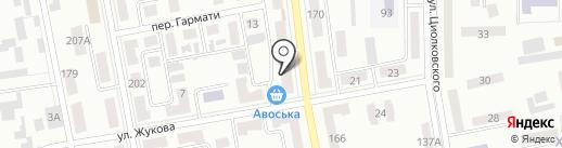 Диалог на карте Макеевки