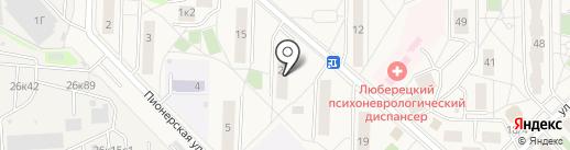 Лариса на карте Томилино
