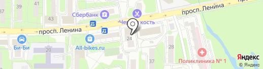 УНИВЕРСУМ на карте Балашихи