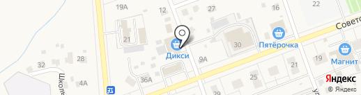 Дикси на карте Михнево