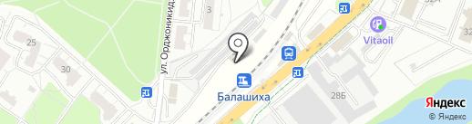 Альтернатива на карте Балашихи