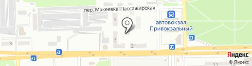 Имидж на карте Макеевки
