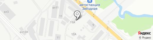 Мегатон на карте Балашихи
