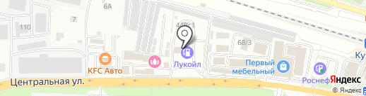 АЗС Нефто-сервис на карте Железнодорожного