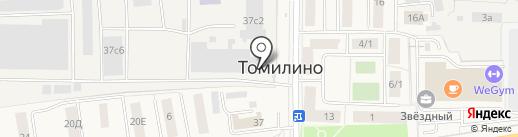 Supershkaf на карте Томилино