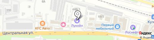 Банкомат, Банк ФК Открытие, ПАО на карте Балашихи