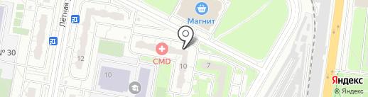 Варенька на карте Балашихи