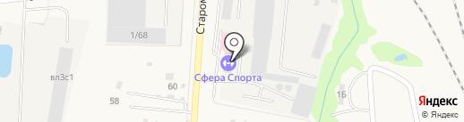Дорожно-строительная организация №1, ЗАО на карте Михнево