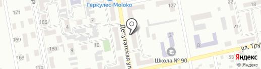 Кондитерский цех на карте Макеевки