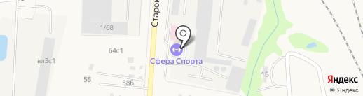 Дорожно-строительная организация №1 на карте Михнево