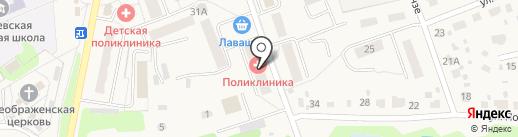 Михневская районная больница на карте Михнево
