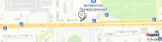 Киоск по изготовлению ключей на карте Макеевки