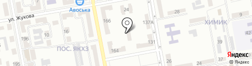 Детский сад №17 на карте Макеевки