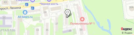 Квант №7 на карте Балашихи