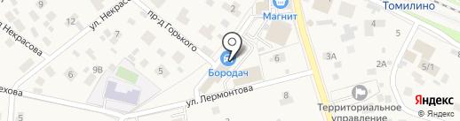 МедЭст на карте Томилино