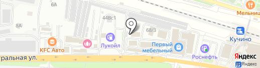 Магазин керамической плитки на карте Балашихи