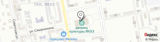 Дворец культуры на карте Макеевки
