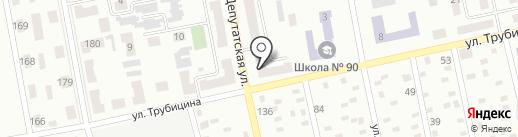 ТриНити на карте Макеевки