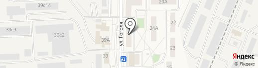 Магазин бытовой химии на ул. Гоголя на карте Томилино