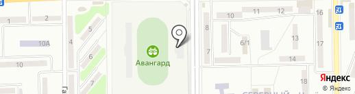 Авангард на карте Макеевки