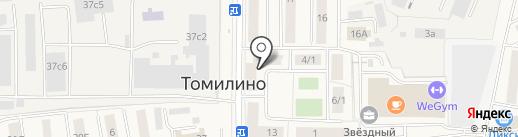 Зообосс на карте Томилино