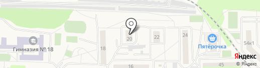 Главная библиотека на карте Томилино