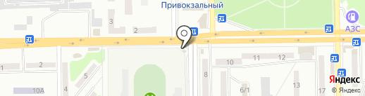 Кошелёк на карте Макеевки