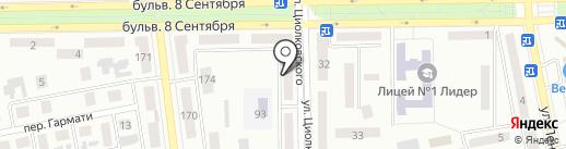 Визаж на карте Макеевки