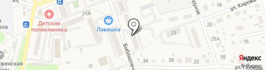 Саламандра на карте Михнево