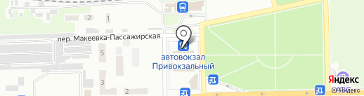 Фермер на карте Макеевки
