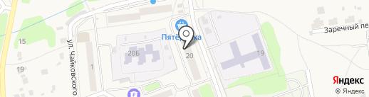 Пятерочка на карте Михнево