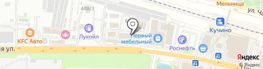 Товарищ на карте Железнодорожного