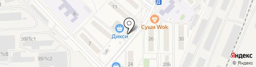 Пекарня на ул. Гоголя на карте Томилино