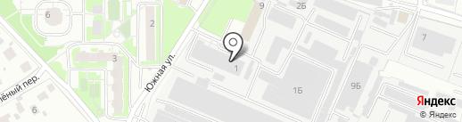 Деколь на карте Балашихи