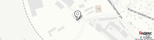 ПИАР, мебельная фабрика на карте Макеевки