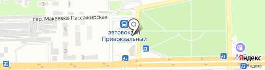 Продуктовая лавка на карте Макеевки